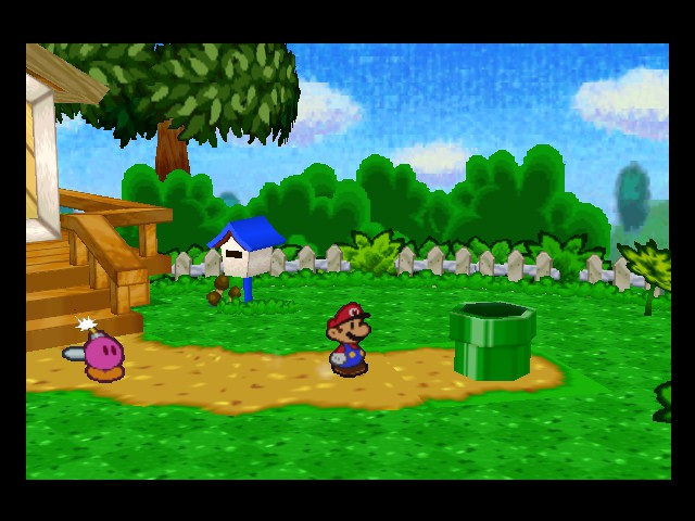Paper Mario - Location  - mario: oh no bomdetee is exploding - User Screenshot